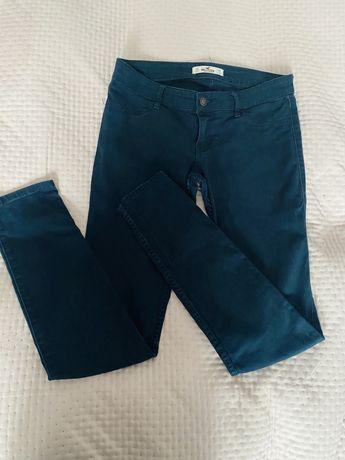 Spodnie Hoolister rurki 36