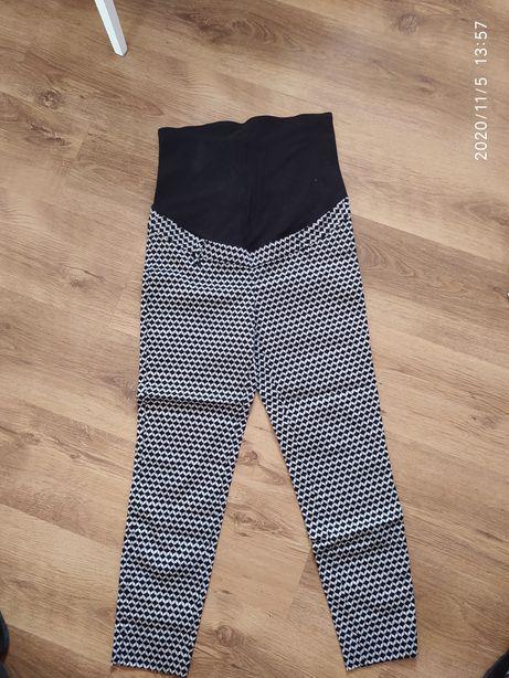 Spodnie ciążowe eleganckie h&m mama 38 nogawka 3/4