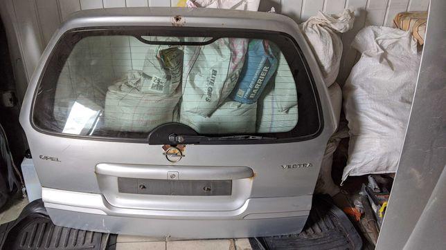 Крышка багажника Опель Вектра Б универсал рестайл серая в сборе