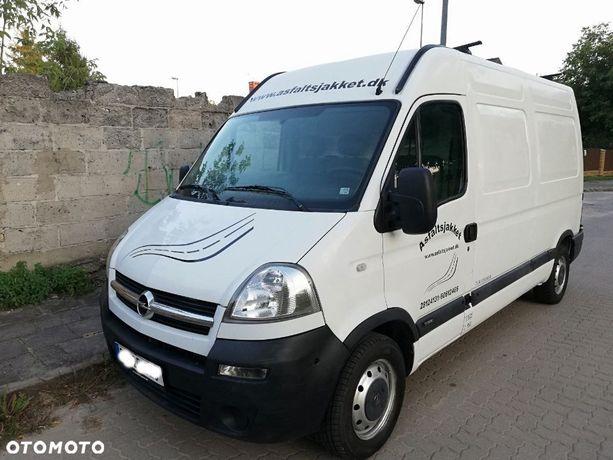 Opel movano  master*2.5 diesel*120 koni *sredni wysoki *bez rdzy
