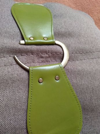 НОВЫЙ женский пояс ремень ремешок бежевый коричневый зеленый широкий