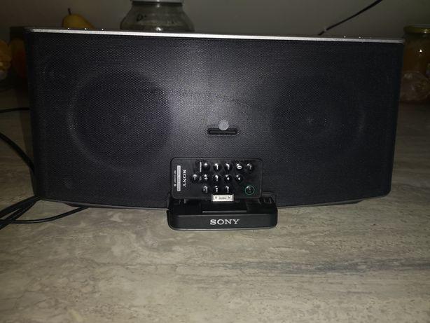 Stacja dokująca z głośnikami Sony