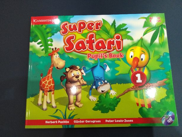 Cambridge Super Safari poziom 1 student book/activity book