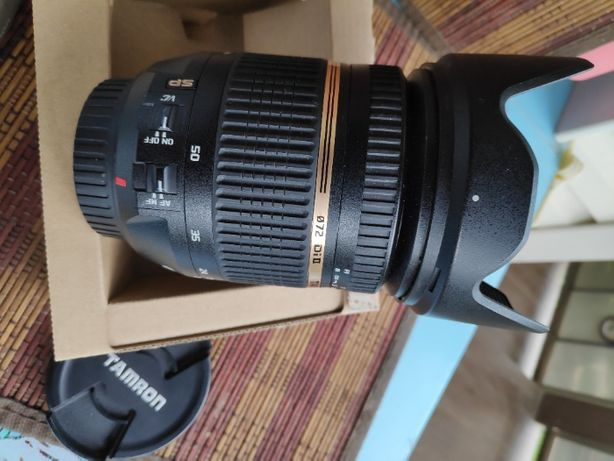 Tamron SP AF 17-50mm f/2.8 XR DiII VC для Canon.