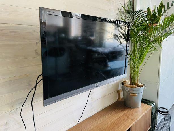 Sony Bravia LCD+ Mi Box+ uchwyt ścienny