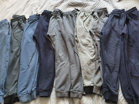 Spodnie dresowe dla chłopca joggery 128 bdb
