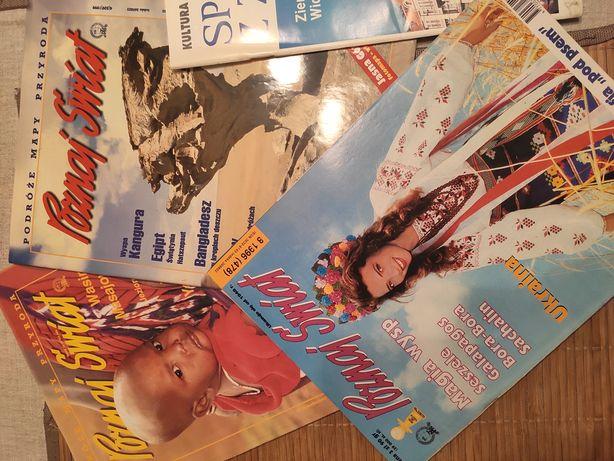 3 wydania Poznaj Świat (4(509)/'99, 5(520)/'00, 8(478)/'96) i inny