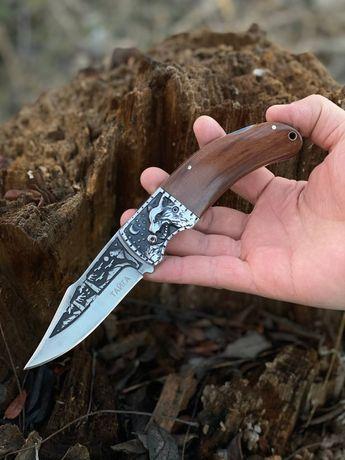 Раскладной охотничий нож Тайга / туристический / для рыбалки