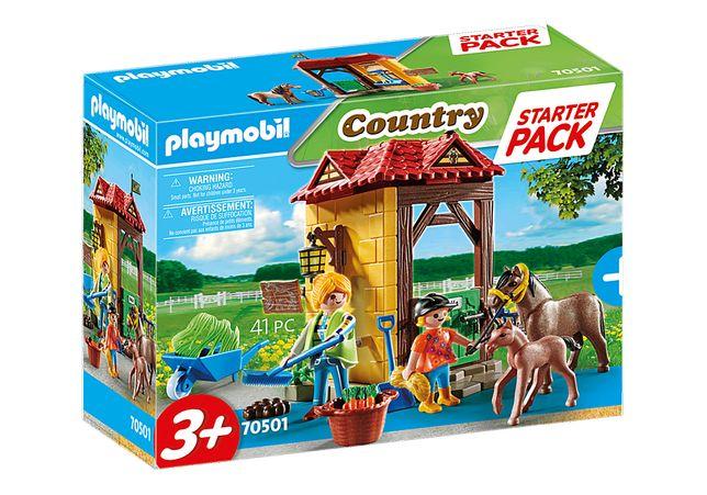 Playmobil 70501 Starter Pack Cavalos - NOVO