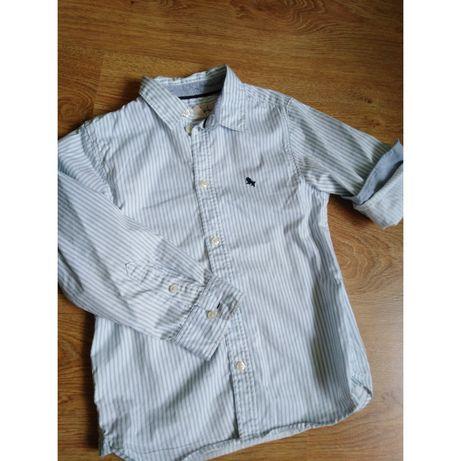 Koszula h&m w paski 122 6-7lat