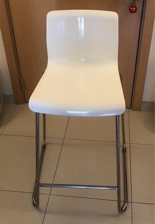 Banco /cadeira branca alta ikea