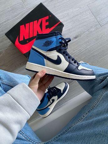 Кроссовки Nike Jordan 1 Retro High Obsidian UNC