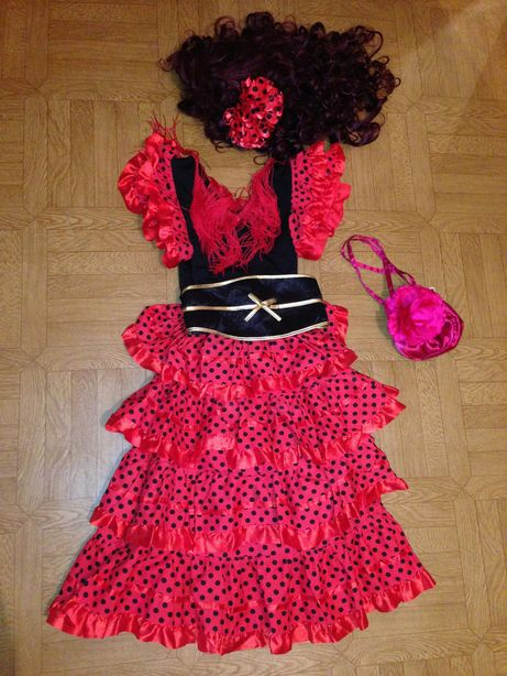 Карнавальный костюм Цыганка, Кармен от 10-13 лет