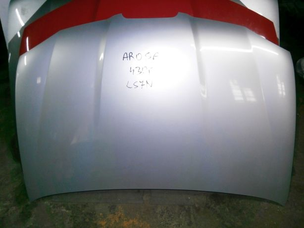 seat arosa maska srebrna LS7N ładna