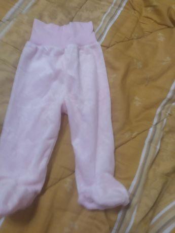 Штаны велюровые розовые