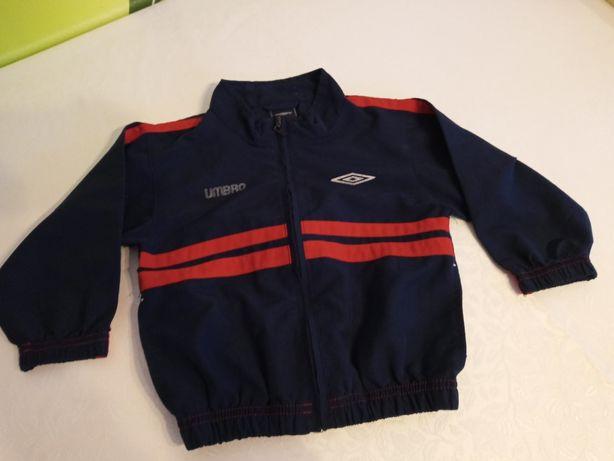 Umbro sportowa bluza/letnia kurteczka 86/92 granatowa