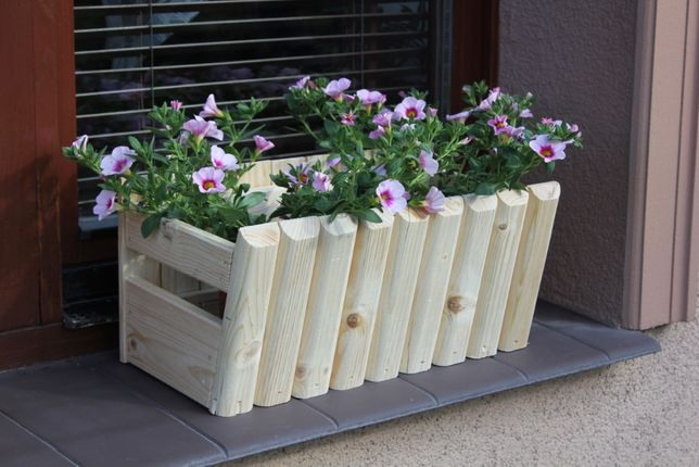 Doniczki Ogrodowe Drewniane Doniczki na kwiaty Wrocław
