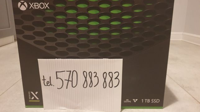Konsola Xbox Series X 1TB  od reki