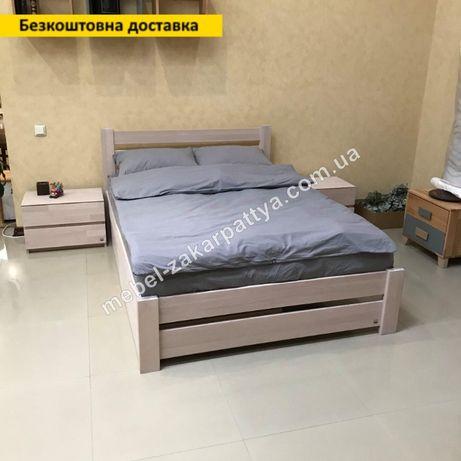 Двуспальная кровать. Ліжко з натурального дерева. Кровать 140,160,180.