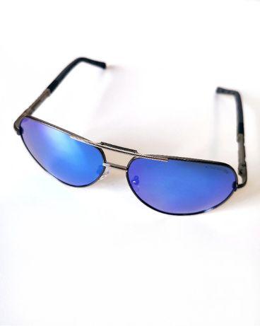 Przeciwsłoneczne okulary KINGSEVEN Polaryzacja UV400! Niebieskie