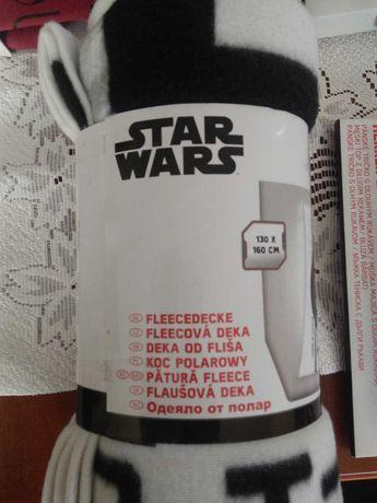 Koc Star Wars, rozmiar 130 x 160 cm