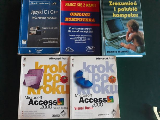 Książka dla informatyków po 5 zł za sztukę.