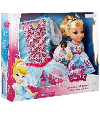 Lalka Disney Kopciuszek Jakks Pacific z sukienką dla dziewczynki