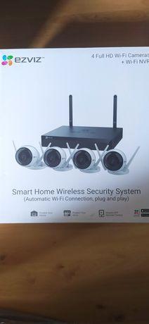 Nowy zestaw 4 kamer do monitoringu