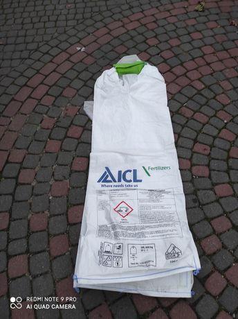 Worki big bag jednouchwytowe z wkładem foliowym CCM.