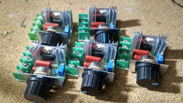 Dimmer 2000W, regulador luz, temperatura, velocidade