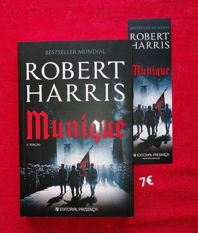 Munique - Robert Harris - Novos a estrear com marcador