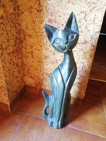Kot drewniany 60cm