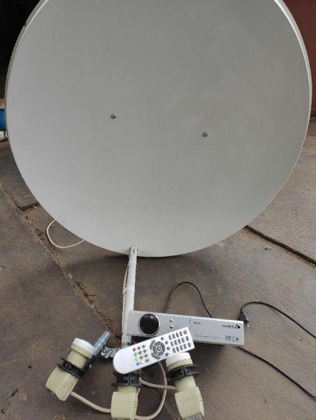 Спутниковая антенна+тюнер(комплект)