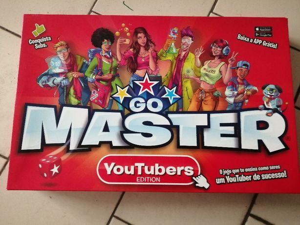go master youtubers edition novo