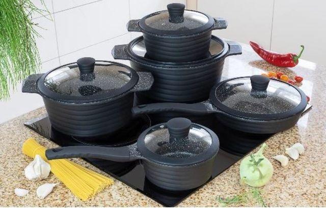 Набор посуды с антипригарным покрытием Edenberg (10 предметов)