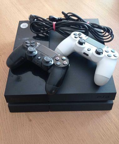 Konsola Playstation 4  500GB + 2 Kontrolery + 9 Gier  + Gwarancja