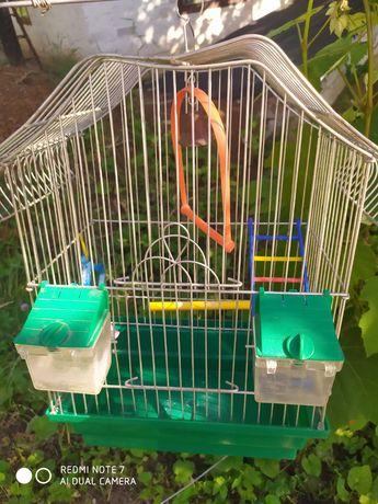 Клєтка для попугая.