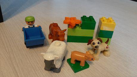 Lego Duplo zwierzątka na farmie 4972