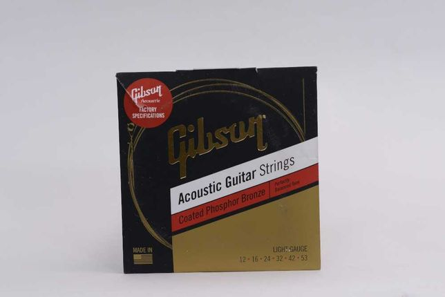 Gibson sag cpb12 12-53 struny do gitary akustycznej