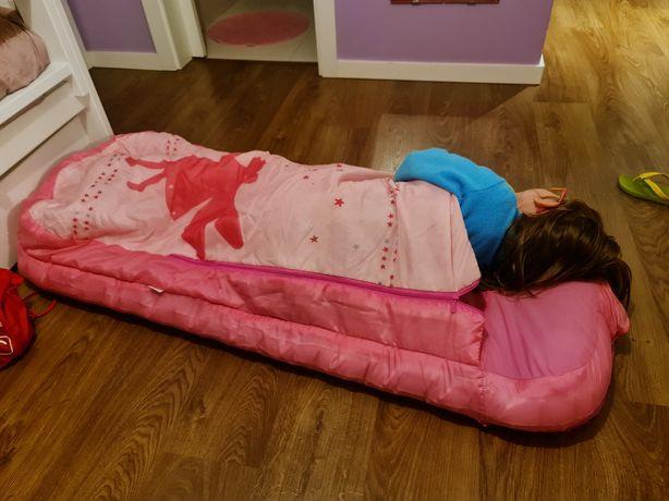 Saco-cama com colchão integrado, tema Fada- rosa estampado