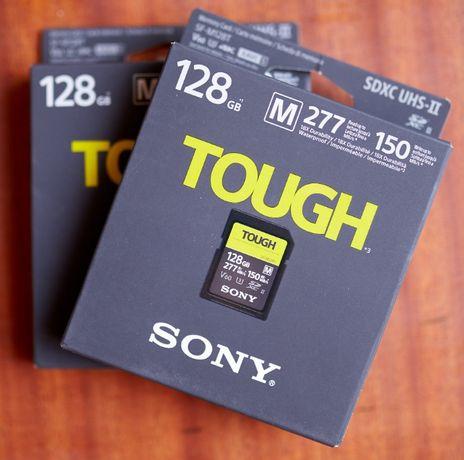 Карта памяти SD Sony 128GB SF-M Tough Series UHS-II SDXC защищенная