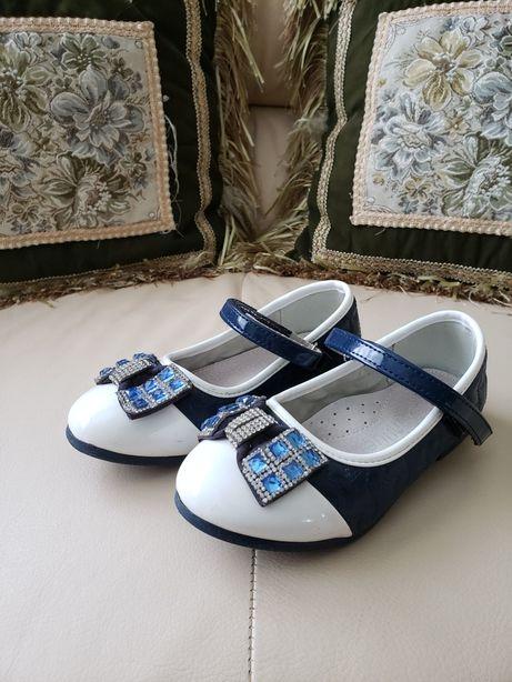 Туфельки для девочки, стелька 18 см