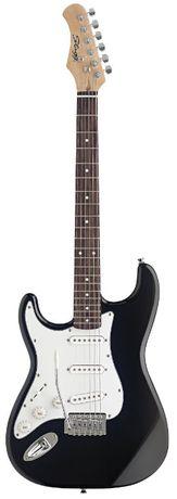 Stagg S 300 LH BK - gitara elektryczna, leworęczna