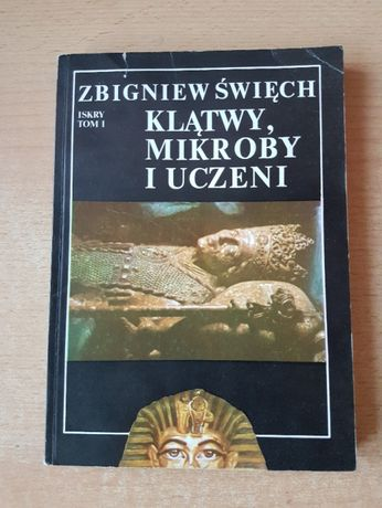 """""""Klątwy, mikroby i uczeni"""" Zbigniew Święch"""