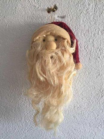 Cabeças Pai Natal-Decoração