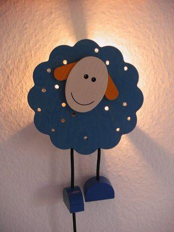 Candeeiro / Luz de presença da marca HABA, madeira, criança bébé