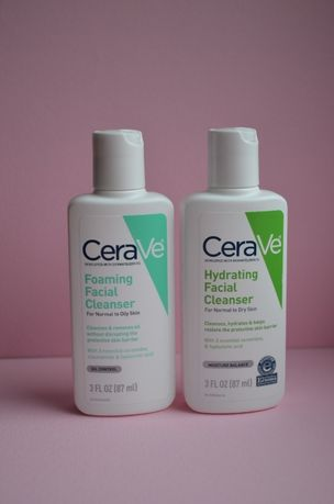 CeraVe для умывания Foaming Facial Cleanser/ Hydrating Facial Cleanser