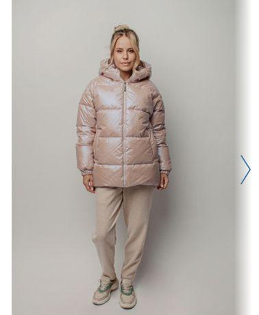 Шикарная дорогая куртка зима - 50 % от стоимости 46-48