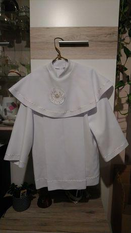 ubranie komunijne, alba, koszula, spodnie, rozm. 136-140, chłopiec