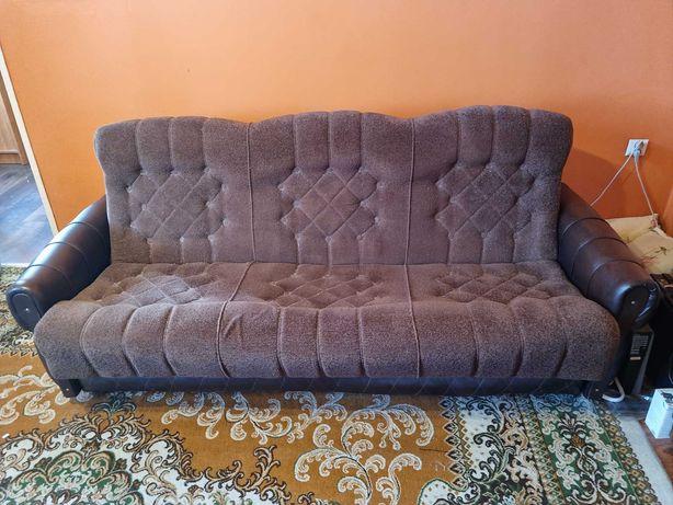 Komplet wypoczynkowy -  Wersalka 2 fotele 2 pufy.